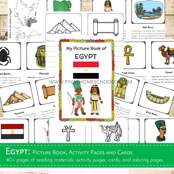 Egypt Country Study Learning Pack