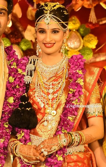 Prasad Nimmagadda's Daughter Wedding Jewellery