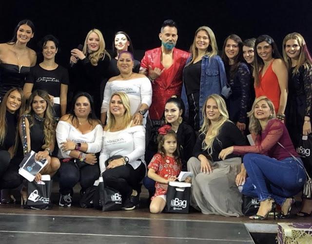 """ESPECTÁCULO: Con  """"Little Black Dress Project"""" se presentó la quinta edición de Encuentro Glam Platinum"""