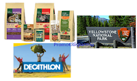 Logo Concorso ''Wild for real'' : vinci Gift Card Decathlon da 150€ e un viaggio a Yellowstone