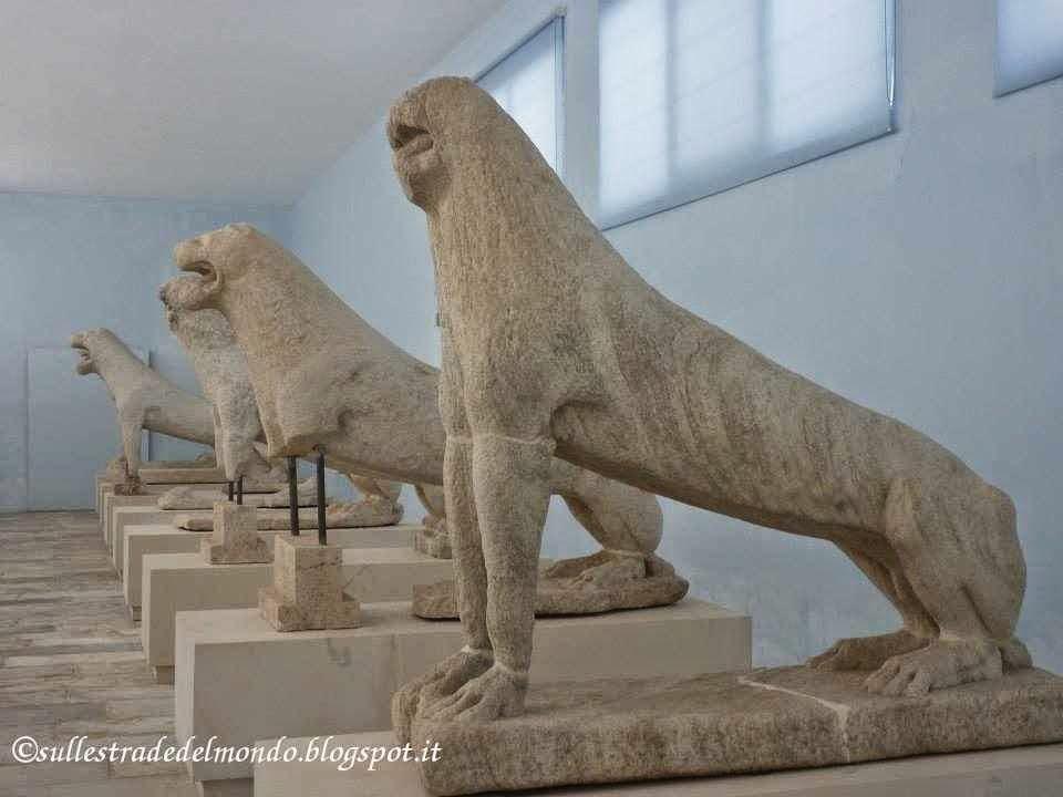 I leoni Museo di Delos