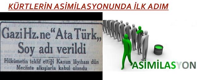 kürt asimilasyon