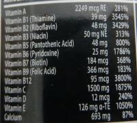 Состав витамин Multi pro plus