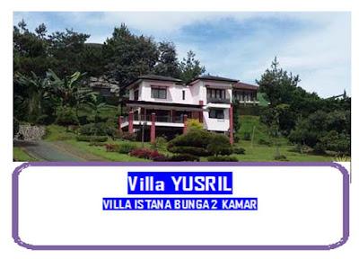 Villa bagus view gunung lembang