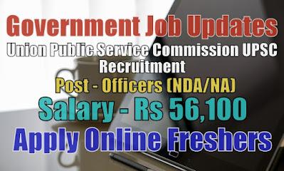 UPSC NDA Recruitment 2020