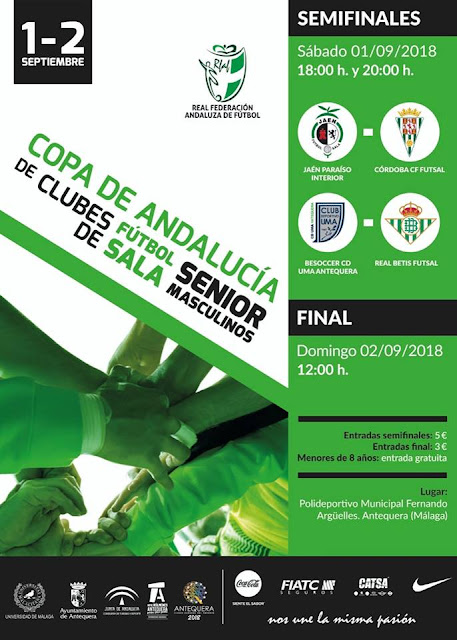 Copa de Andalucía de Clubes de Fútbol Sala en Antequera