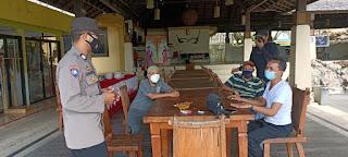 Sambangi Masyarakat, Sat Binmas Sampaikan Ini Kepada Pengunjung Villa Bambapuang!