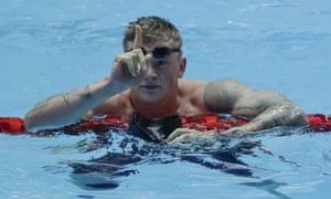 Adam Peaty breaks 57 seconds barrier & 100m breaststroke world record