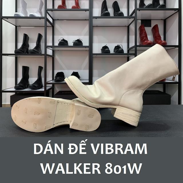 Walker 801W được dán đế Vibram soles Protector