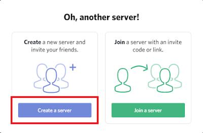 Cara Menggunakan Voice Chat di Discord - Create a Server