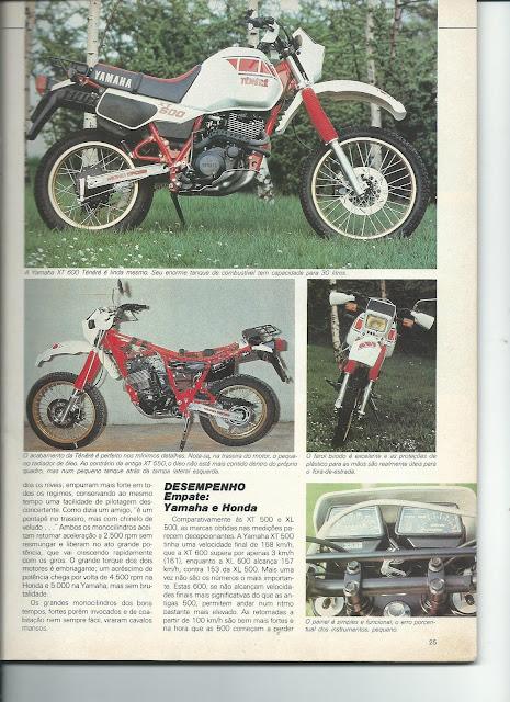 MS08 - Yamaha XT600 x Honda XL600 - O DUELO