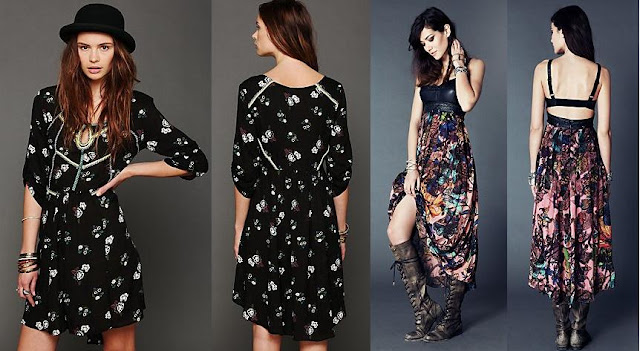 vestidos floreados 2013 free people
