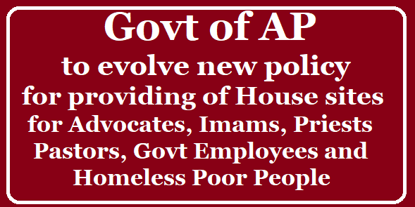 Group of Ministers – Constitution of Group of Ministers to Evolve New Policy /2019/08/Government-of-AP-to-evolve-new-policy-for-providing-house-sites-to-Govt-employees.html