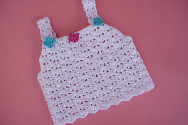 6 - Crochet Imagen Sencilla camiseta de tirantes para el verano a crochet por Majovel Crochet