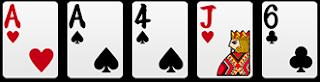 一對:1對子+3單張