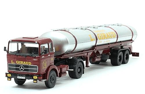 mercedes-benz lps 1932 1/43 transport l. giraud, coleção caminhões articulados altaya, coleção caminhões articulados planeta deagostini, coleção caminhões articulados 1:43