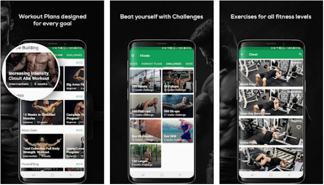 Fitvate Gym Workout Trainer APK Free Download