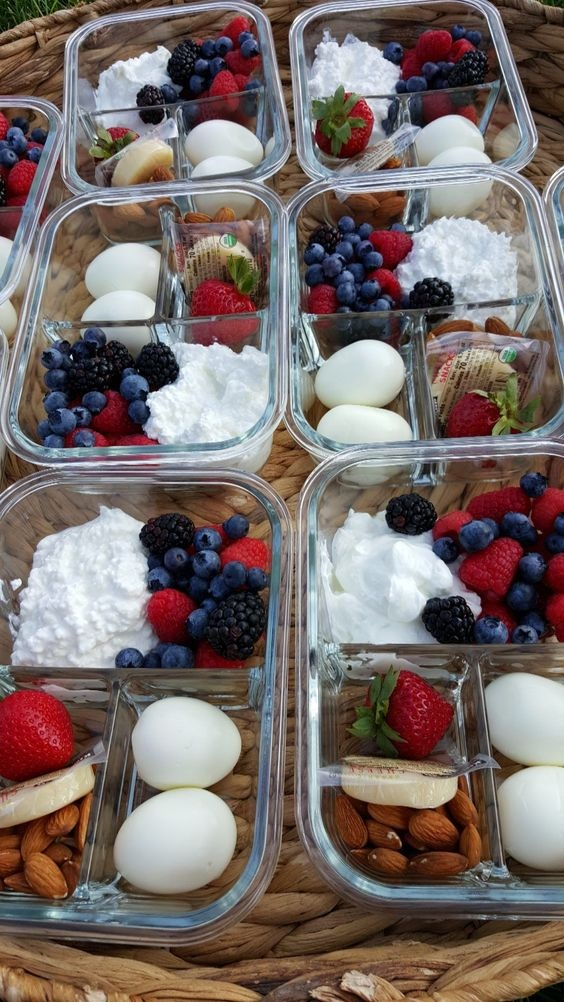 Protein Packed Breakfast Bento Boxes