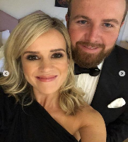 Shane Lowry And His Wife C Wendy Lowry Png