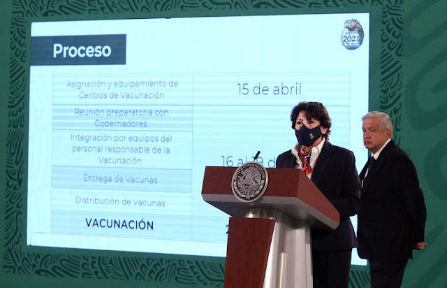 El 20 de abril inicia campaña de vacunación a maestros de 5 estados del país