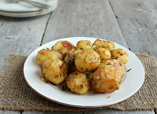 Crispy Curried Potatoes