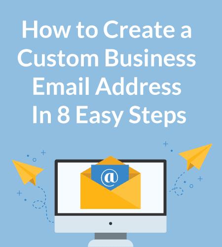 Create Custom Professional Email Address