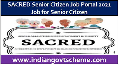 SACRED Senior Citizen Job Portal