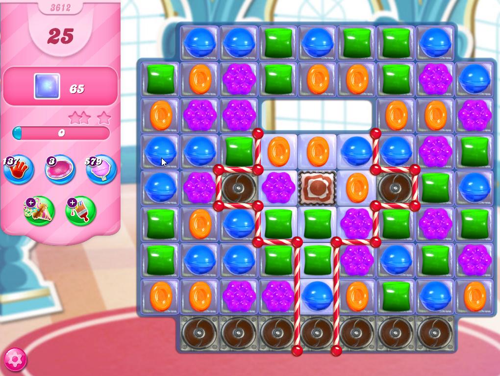 Candy Crush Saga level 3612