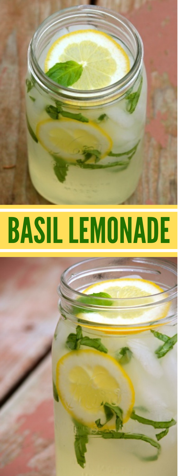 Basil Lemonade #drinks #summer