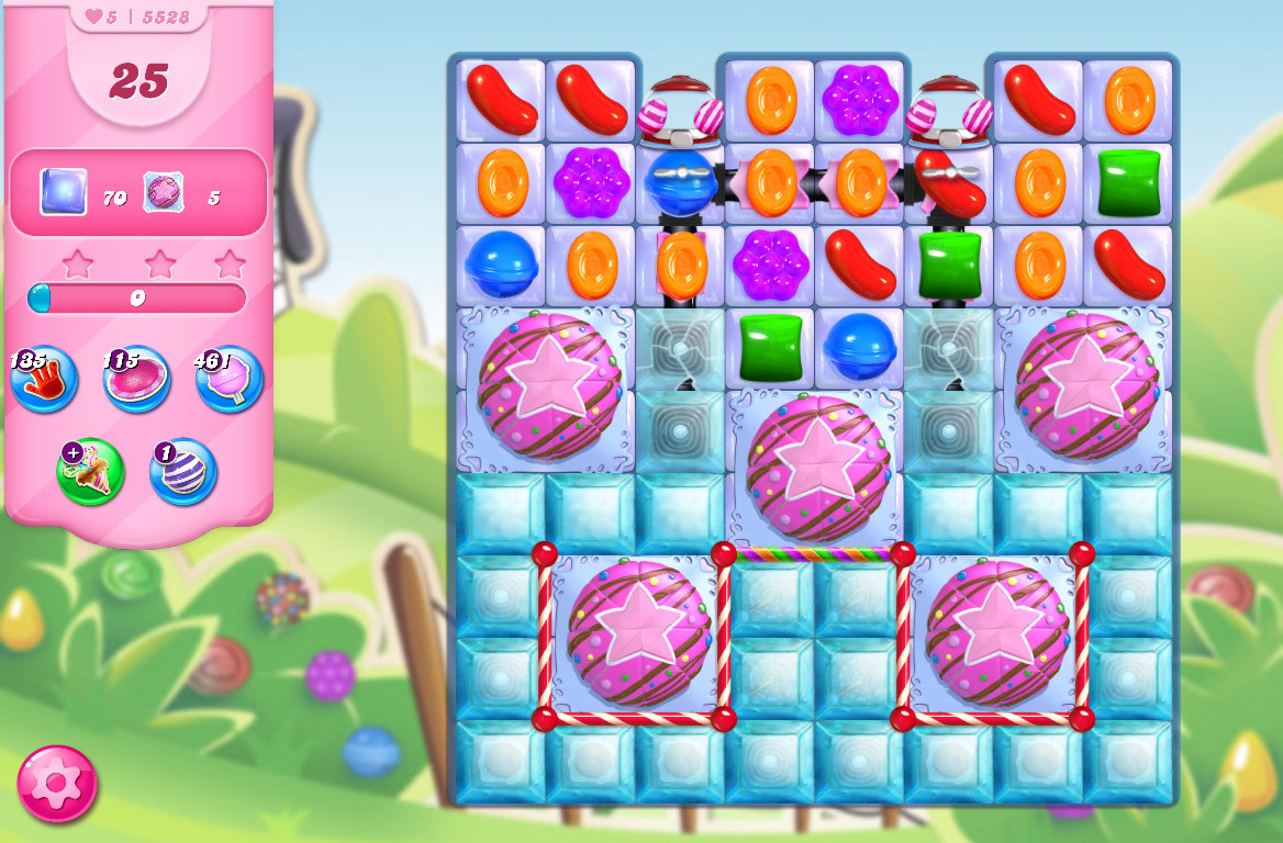 Candy Crush Saga level 5528