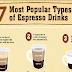 7 Most Popular Espresso Drinks #infographic