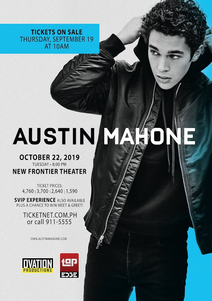 AUSTIN MAHONE CONCERT IN MANILA THIS OCTOBER