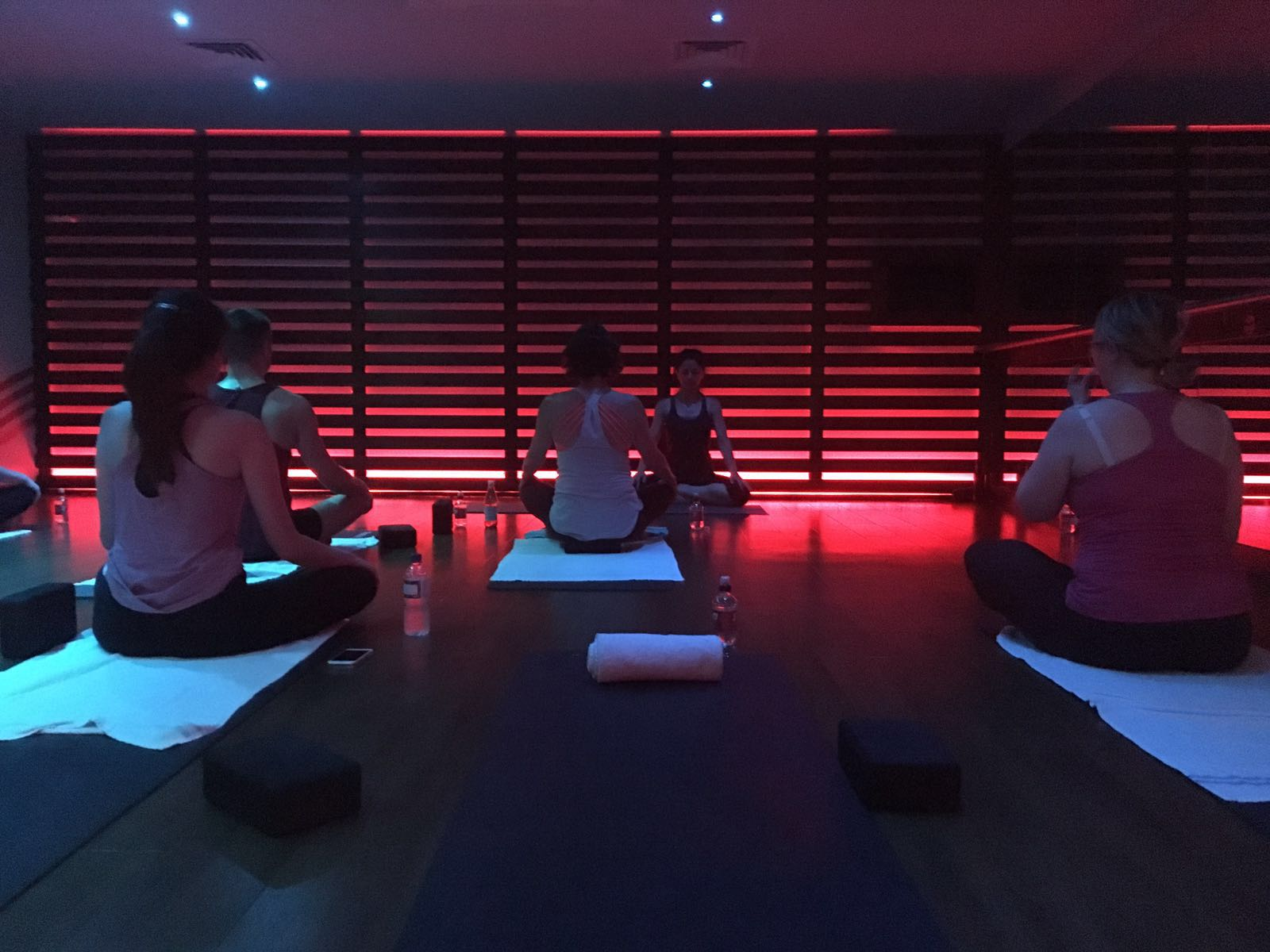 Fitness First hot yoga class