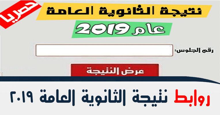 نتيجة الثانوية العامة 2019 بالأسم ورقم الجلوس اليوم السابع natega.youm7 فيتو مصراوي بوابة الثانوية العامة