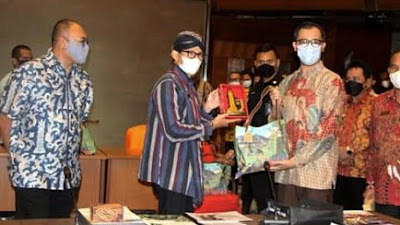 Untuk Peningkatan Pariwisata Bukittinggi, Walikota Erman Safar Sambangi Kemenparekraf