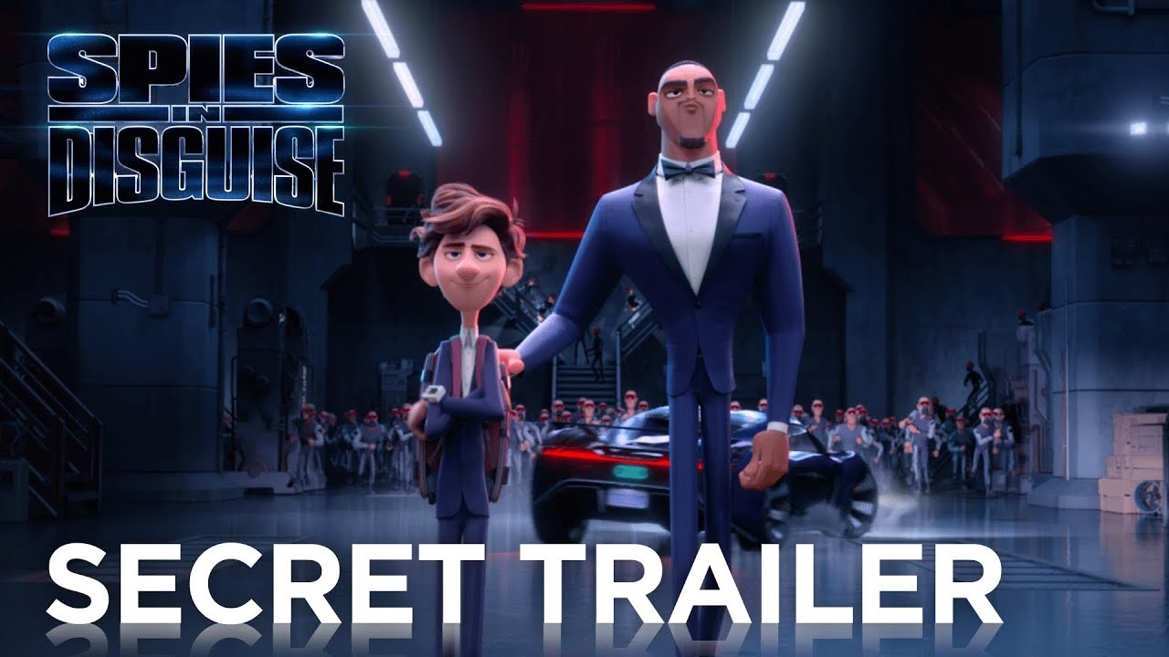 Disney At Heart The Latest Spies In Disguise Trailer Looks Hilarious