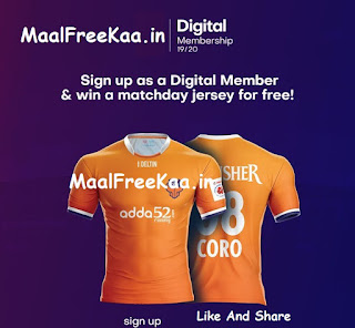 FC Goa Official Jersey FREE