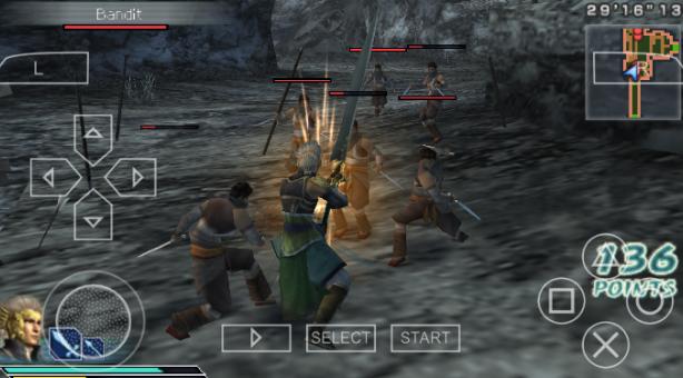 Dynasty Warriors Strikeforce PSP