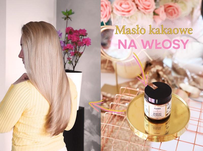 Masło kakaowe na włosy | Jak działa i do jakich włosów się nadaje? - czytaj dalej »