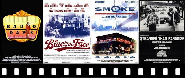 Filmes ambientados em Nova York: A Era do Rádio, Sem Fôlego e Cortina de Fumaça, Stranger than Paradise