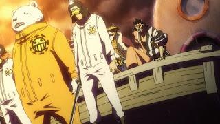 ワンピースアニメ ワノ国編   ハートの海賊団 シャチ ベポ ペンギン   Heart Pirates   ONE PIECE