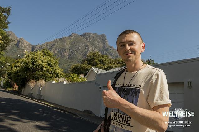Arkadij am Table Mountain Cape Town www.WELTREISE.tv