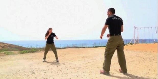 Krav maga fighting stances