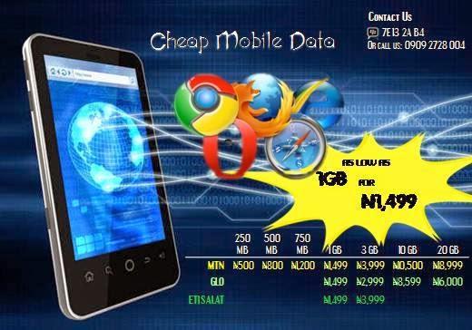 Cheapest MTN, Glo, Etisalat Data plans  Don't miss it