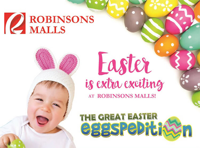 Bring your kids to the Great Easter Eggspedition at Robinsons - it's free!