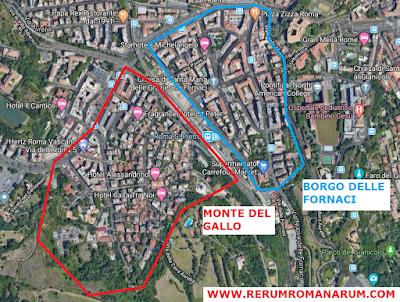 Mappa Monte del Gallo