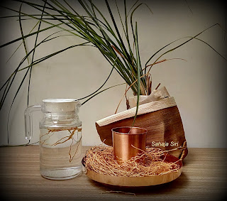 Vetiver infused water