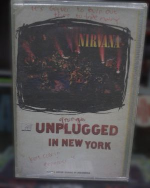 Kaset Nirvana - MTV Unplugged