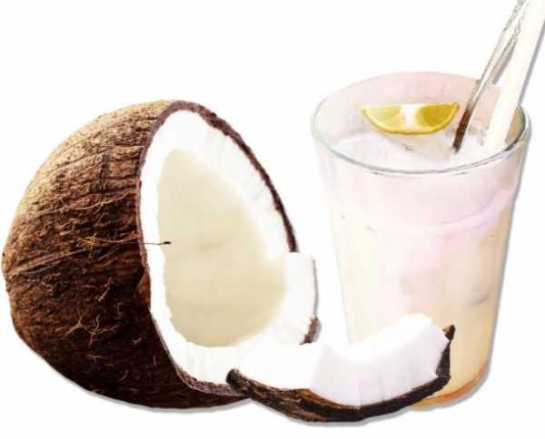 Água de coco industrializada não saudável