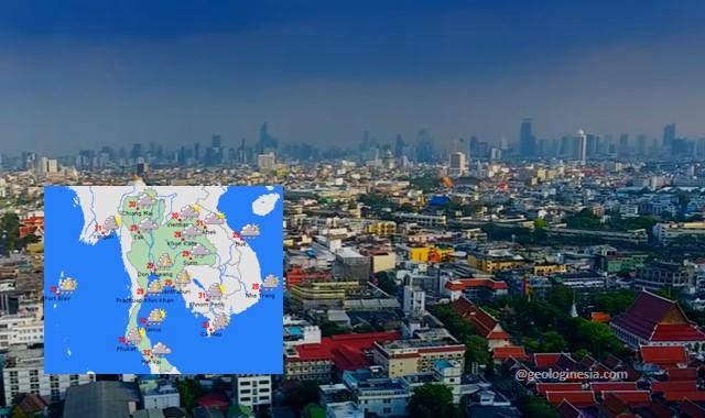iklim negara thailand